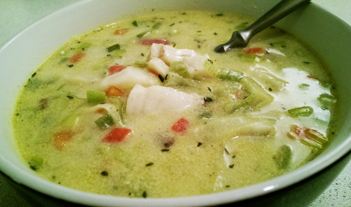 Spicy Fish Chowder