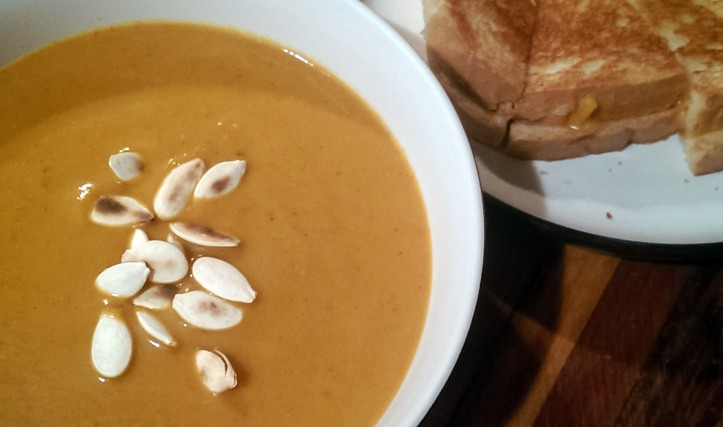 Pumpkin and Ancho Chile Soup