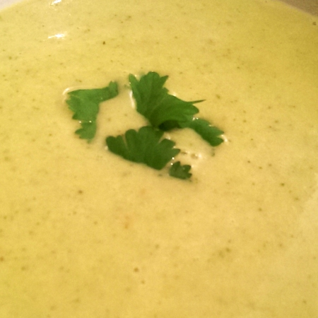 Cream of Jalapeño Soup