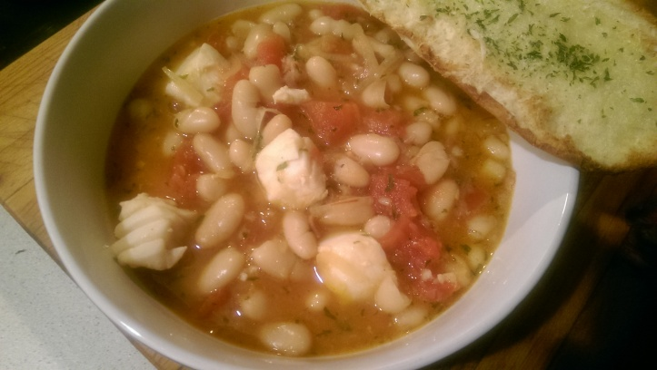 Halibut and White Bean Stew