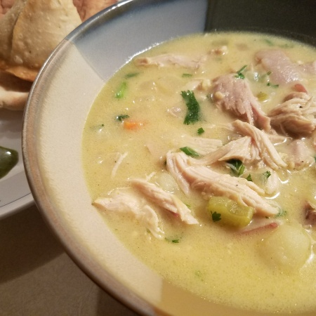 Curried Chicken Chowder