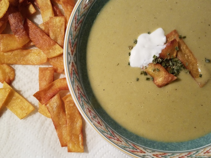 Cream of Roasted Jalapeno Soup