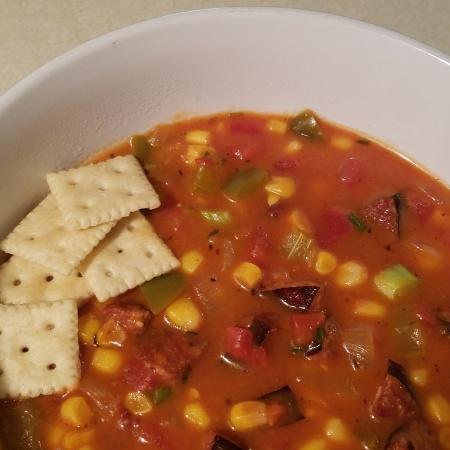 Cajun Corn Soup